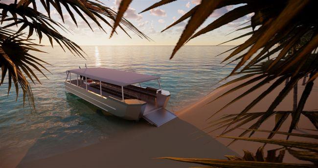 DFe 1204-AI-Impression beach Sunrise_