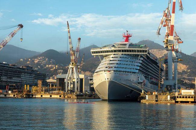 Fincantieri Virgin Voyages first ship scarlet lady