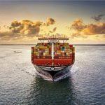 MSC container ship representation