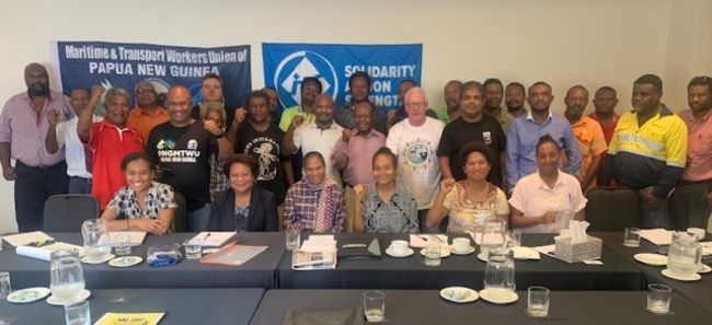 Workers' Unions Unite In Papua New Guinea