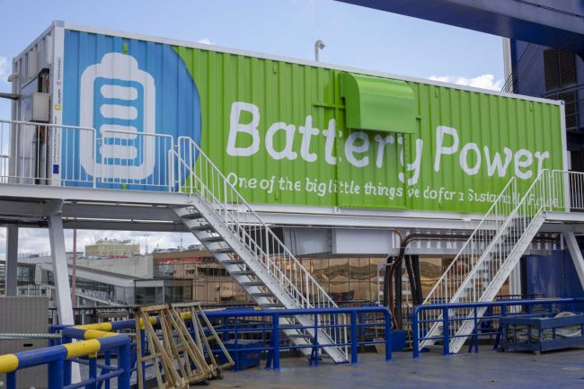 Quayside Powerbanks - The Next Step in the Electrification of Shipping