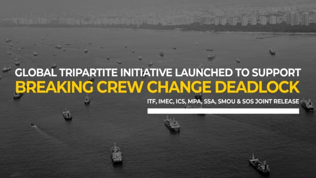 SG-STAR Fund First global tripartite initiative to support countries for crew change
