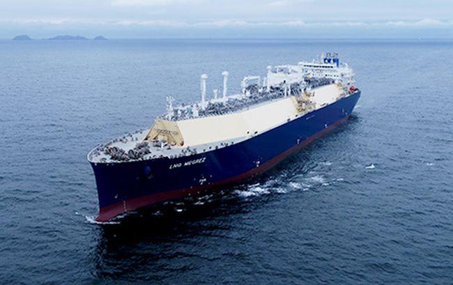 LNG Carrier LNG MEGREZ - MOL China COSCO Shipping