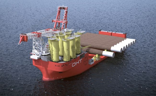 OHT's Alfa Lift, of Ulstein design. Image courtesy of OHT for illustration purposes only