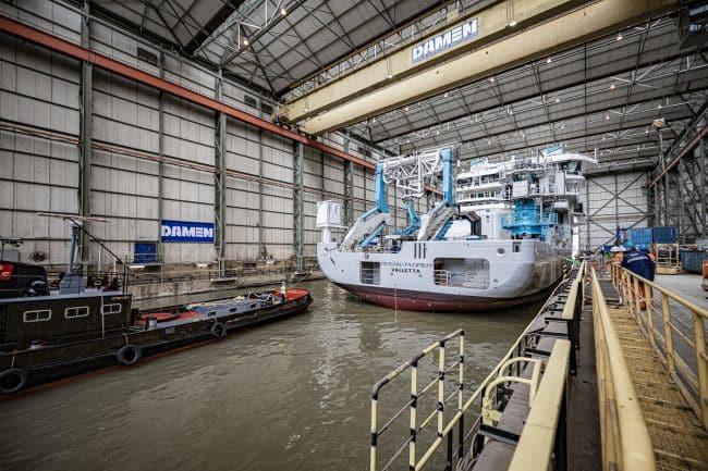 OceanXplorer at Damen Shiprepair Rotterdam LR