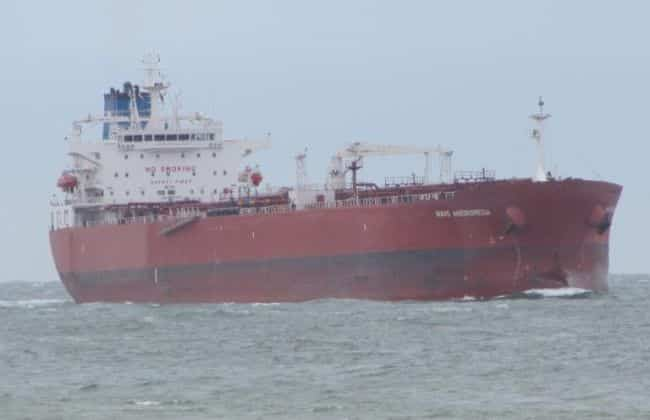 Oil Tanker - Isle Of Wight
