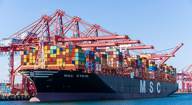 TTI Sets North American Record For Highest Container Volume Handled On Single Vessel