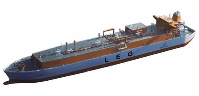 Very large ethane carrier