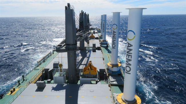 Wärtsilä will include Anemoi Marine Technologies' Rotor Sails as part of its propulsion offering