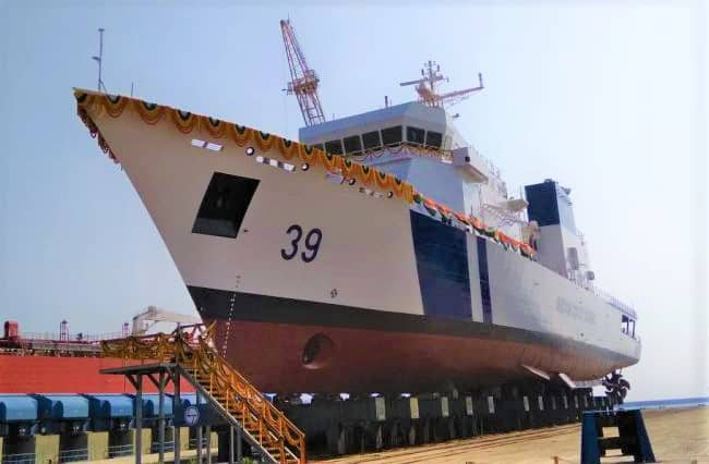 Yard 45007 (ICGS-Vigraha) L&T Indian Coast Guard_
