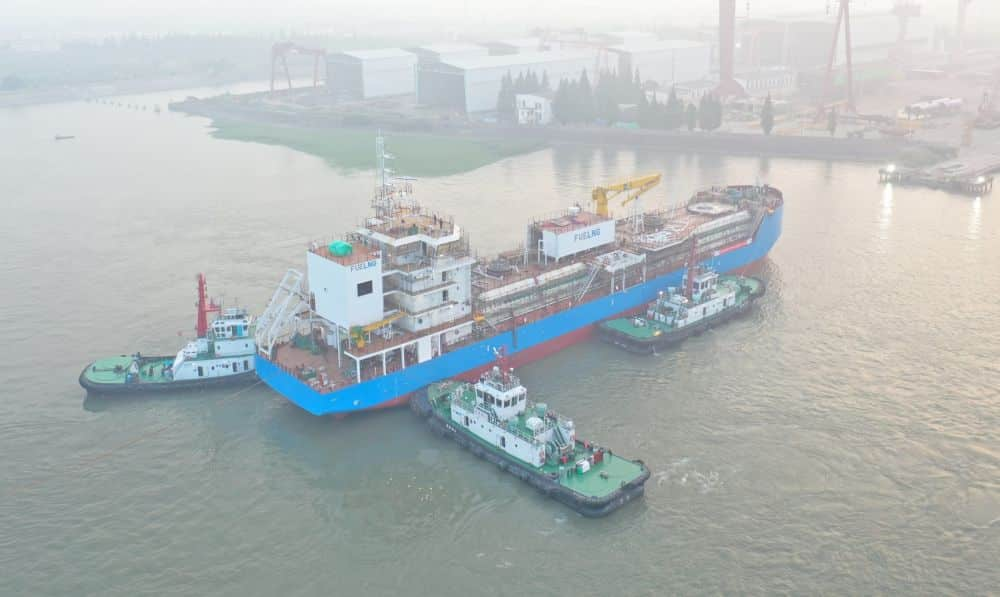 First LNG Bunkering Vessel In Singapore