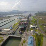 Evergreen Triton_panama canal transit