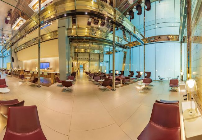 Qatar Airways Mariner Lounge Doha _1