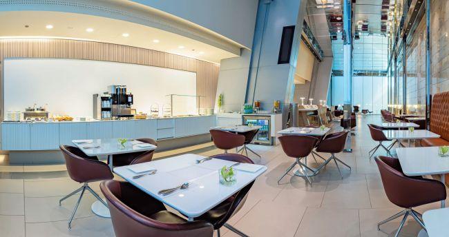 Qatar Airways Mariner Lounge Doha