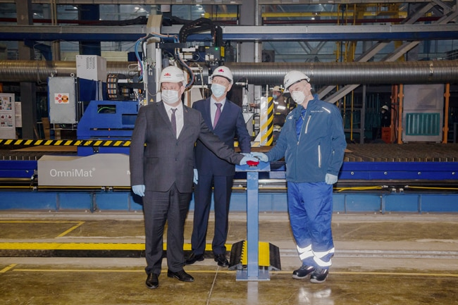 ZVEZDA-SHIPYARD-HAS-STARTED-CUTTING-STEEL-FOR-A-NEW-SERIES-OF-ICE-CLASS-LNG-VESSELS---LNG-CARRIERS