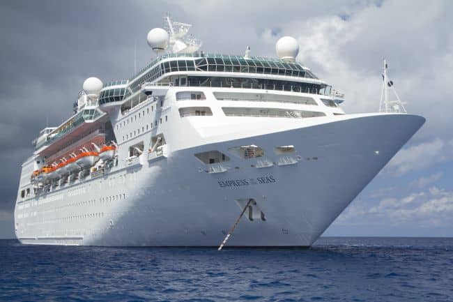 Empress of the Seas in Grand Cayman May