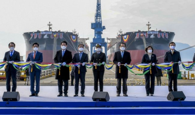 HSHI to Deliver World's 1st LNG-fueled Large Bulk Carriers