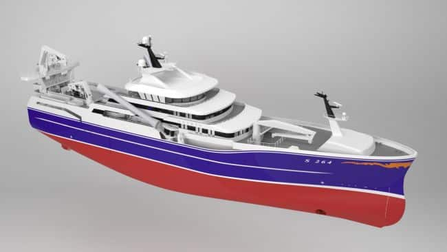Kongsberg Fishing vessel