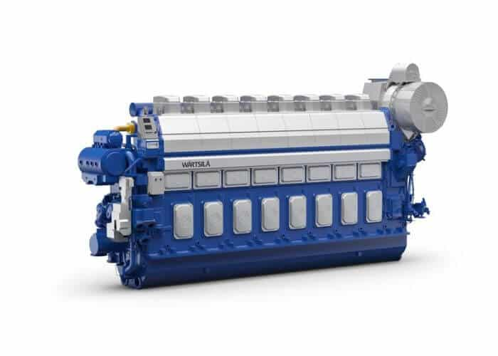 36 dual-fuel engines