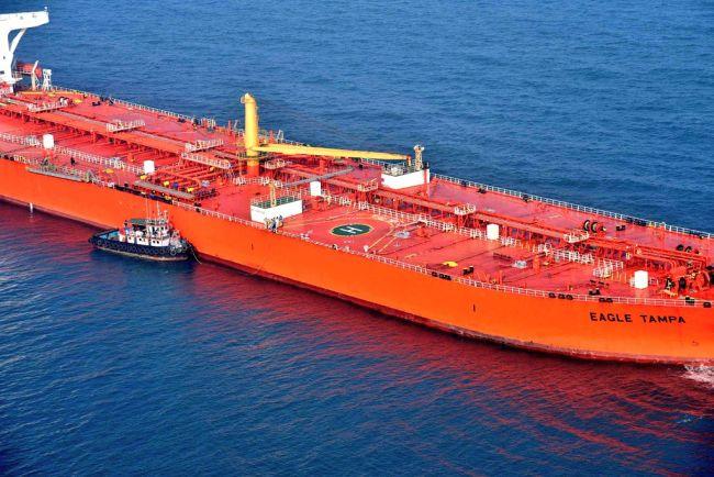 Singaporean merchant ship MV Eagle Tampa