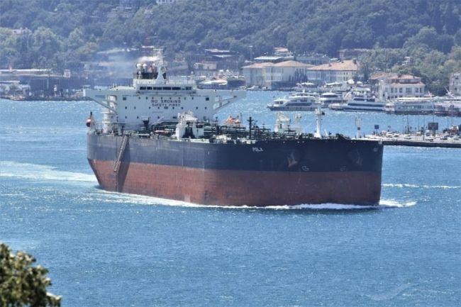 Tanker vessel Pola - hull explosive