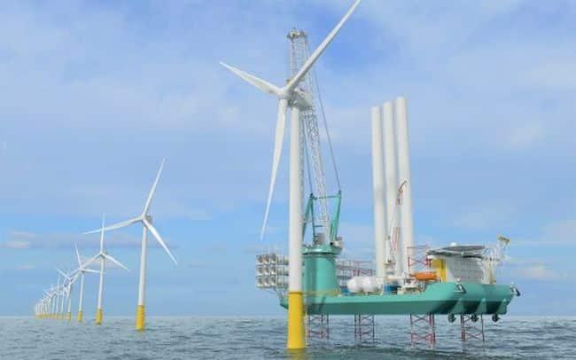 KONGSBERG Will Secure Green Footprint Of New Next-Gen Wind Turbine Installation Unit
