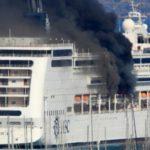 MSC Lirica - Fire Onboard