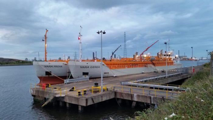 larvik shipping no