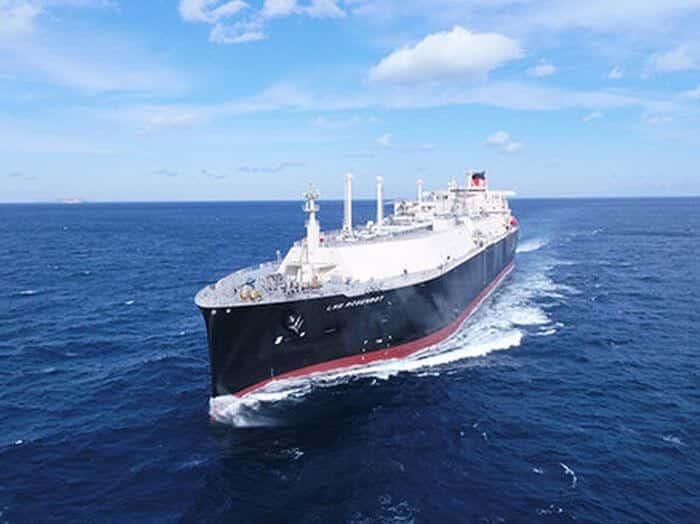 LNG carrier LNG Rosenrot