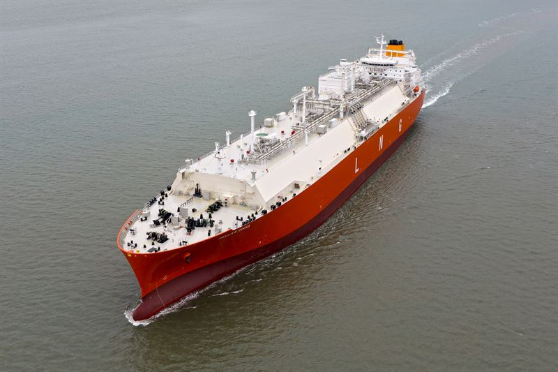 The 'Hellas Diana' is one of the two vessels in the Latsco LNG Marine Management fleet to be covered by the latest Wärtsilä Optimised Maintenance agreement.