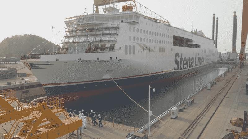 Weihai Shipyard - stena line e-flexer