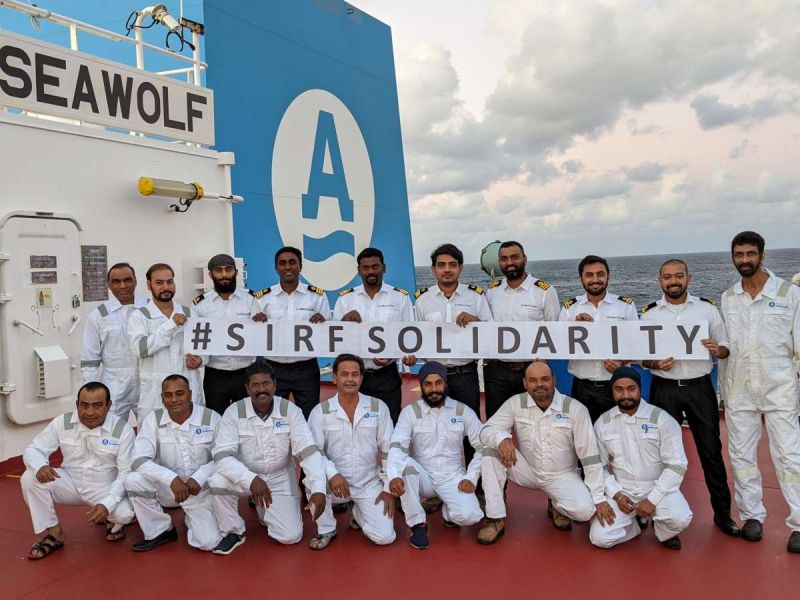 Seafarers' Relief Fund Reaches $530,000 In Pledges Towards COVID-19 Seafarer Cr