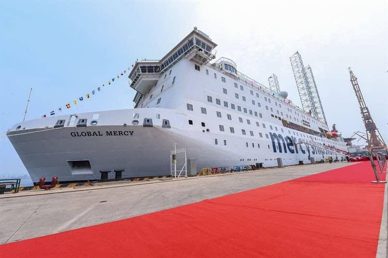 global mercy - stena roro- Mercy Ships
