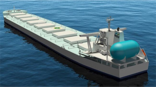 MOL Signs Deal for Long-term Transport Using Newbuilding LNG-fueled Bulker